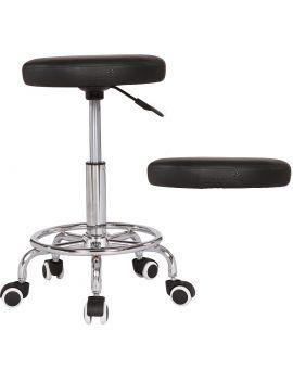 Massage Imperial® Rio - Massage/Therapeut Drehhocker (Schwarz)