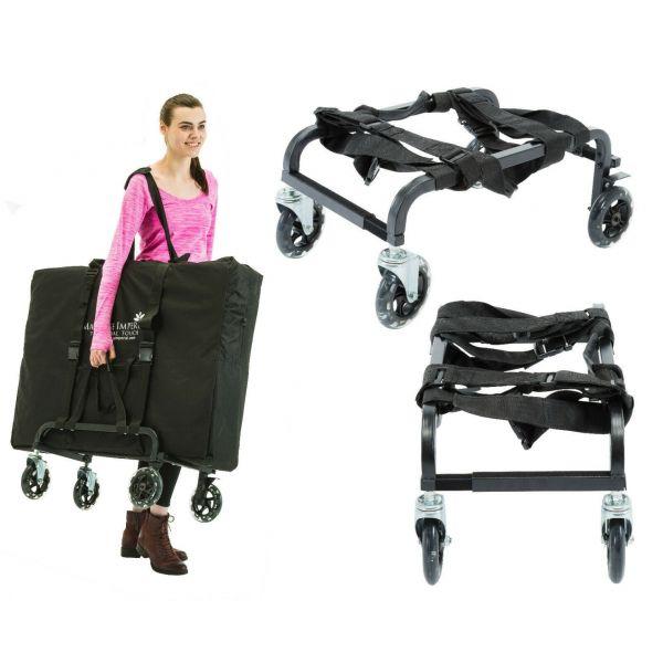 Massage Imperial® Tragbarer Massagetischwagen Wagen Dolly « Brooklands »