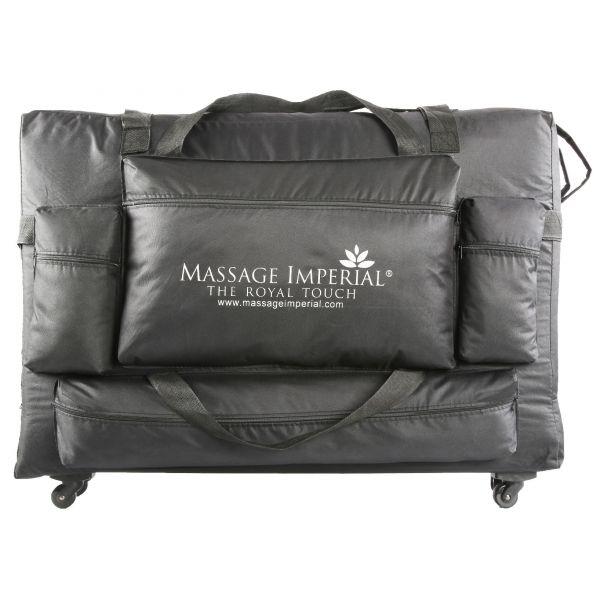 Massage Imperial® « Deluxe » Großformat - Massagetisch Tasche mit Rädern